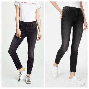 MOTHER High Waisted Jeans The Looker in Nighthawk